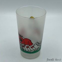 Glass illustrated by cartoonist Cabu