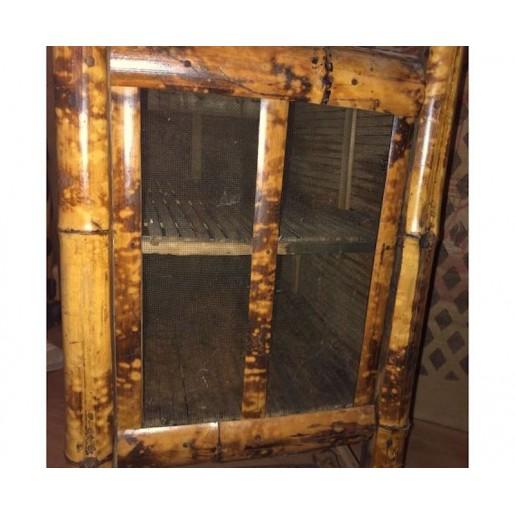 Vintage bamboo pantry | Former large pantry