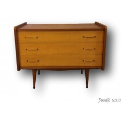 Old vintage chest of drawers | 3 drawers | Winged chest of drawers | 50s / 60s