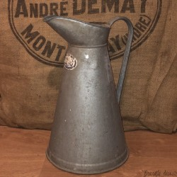 Old large zinc pitcher | Old water pitcher | Farmhouse | Garden