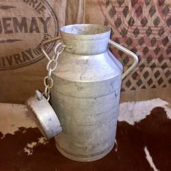 Old 20 Liter milk container   Aluminum   FR   Farmhouse Deco