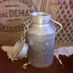 Ancien grand bidon à lait | Bidon de ferme | Pot à lait | 20 Litres