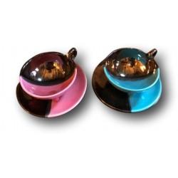 Old tea head to head | Luc Vallauris | Vintage