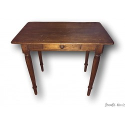 Old small children's table | Small children's desk | Old small piece of furniture