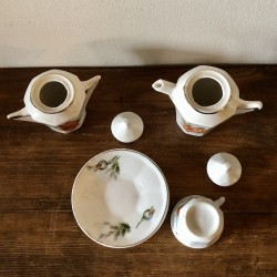 Old small earthenware dinette | Old toy | Collection