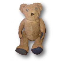 Old Crier Bear   Pouet pouet bear   Button eyes