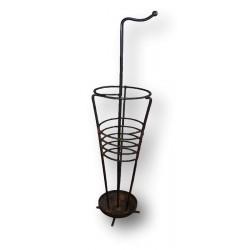 Old spiral umbrella stand   Modernist umbrella stand   1950