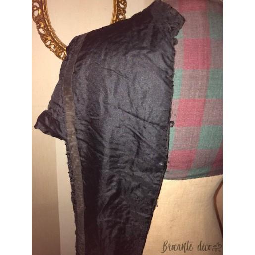 Old black jet women's clothing
