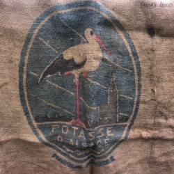 "Jute bag ""Potasse d'Alsace"" 