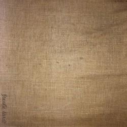 Ancien napperon carré en lin brodé | style vintage