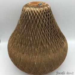 Suspension Scandinave en fil - Forme poire - 100% vintage