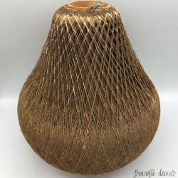 Scandinavian wire pendant - Pear shape - 100% vintage