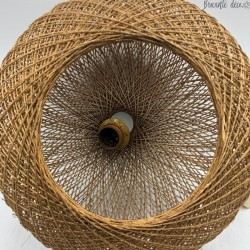 Suspension boule scandinave en corde - 100 % vintage