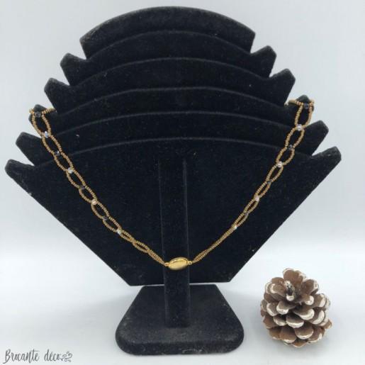 Collier en perles de cristal Swaroski