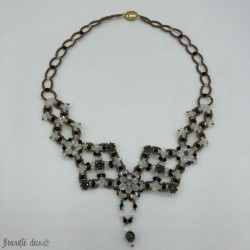 Swarovski crystal bead necklace