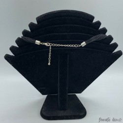 Collier Swarovski de fabrication artisanale