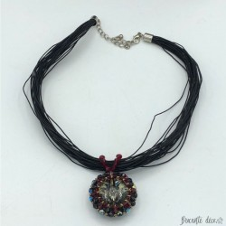Handcrafted Swarovski Necklace