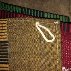 Lot de 3 torchons vintages en pur coton