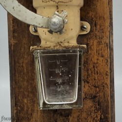 Old wall coffee mill Sarreguemines France - Decor Alsace