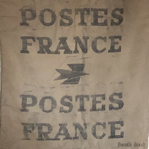 Old and large canvas bag from the Post Office