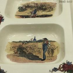 Tray Obernai Sarreguemines France - Vintage