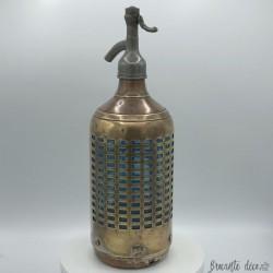 Ancien siphon cage | A eau de Seltz | Déco | bistrot | Bar