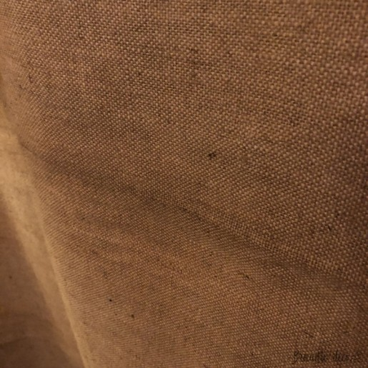 Old very large burlap marked B.S