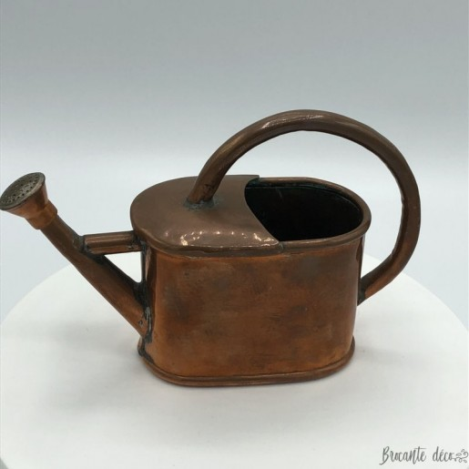 Old miniature copper watering can | Collection | Deco