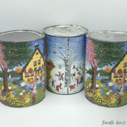 Lot of 3 large old boxes | Milupa | 1990