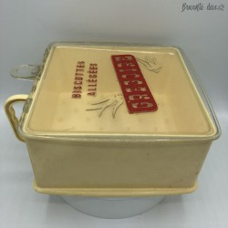 Vintage light rusk box | Gregory | Advertising | France