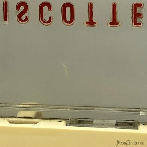 Boîte à biscottes allégées vintage | Grégoire | Publicitaire | France