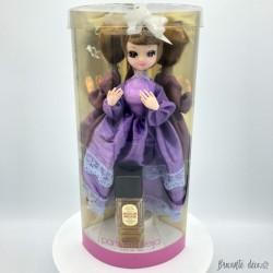 Ancien coffret d'eau de toilette Moulin Rouge | Parfums Neija | Avec poupée