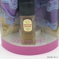 Old box of Moulin Rouge toilet water | Neija Perfumes | With doll