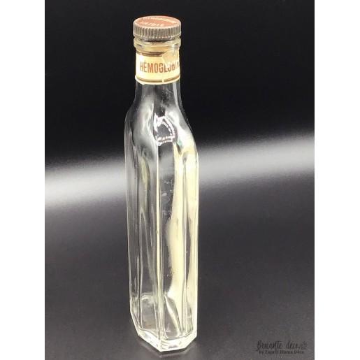 Ancienne bouteille vide   HÉMOGLOBINE VAIDIE