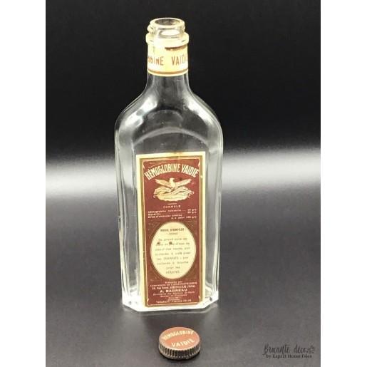 Old bottle HÉMOGLOBINE VAIDIE