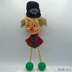 Vintage clown clown coat rack