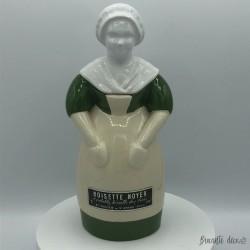 Ancienne bouteille en faïence | Noisette Noyer | St Amand Cher | Paysanne