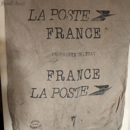 Ancien sac à courrier | De La Poste France | En toile
