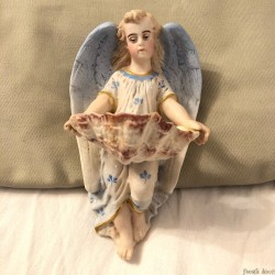 Holy Angel in Biscuit | Old | Stamped M&F - R