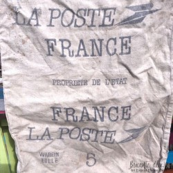 Sold Old Canvas Postal Bag La Poste France