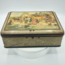 Ancienne boîte Publicitaire | En tôle lithographiée |  Alsa Nancy