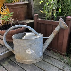 Large zinc watering can | Old | Garden decoration