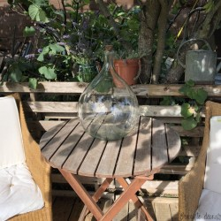 Dame Jeanne transparent | 15 Liters | Vintage decor