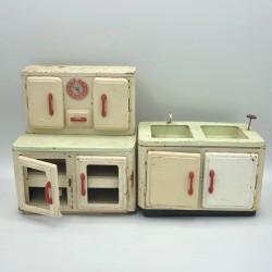 Anciens jouets éléments de cuisine dînette | Manufrance Saint Etienne | Collection
