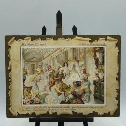 Cartes publicitaires anciennes Au Bon Marché | La belle au bois dormant
