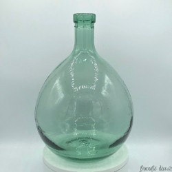 Dame Jeanne vintage green bottle | Capacity 5.5 liters