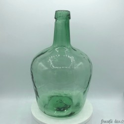 Dame Jeanne Vintage Bottle | Old Bonbonne | Green