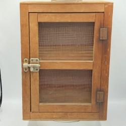 Ancien petit  garde manger en bois | Art populaire | Déco de cuisine