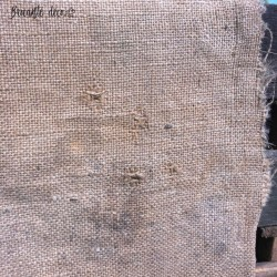 "Old burlap bag ""ENGRAIS AUBY"" France"
