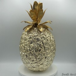 Vintage ice bucket | Golden pineapple | The Turnwald Collection International